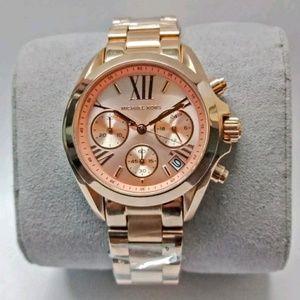 Brand NWT MICHAEL KORS rose gold bracelet watch